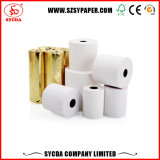 China fabricante rollo de papel térmico de alta Color Blanco
