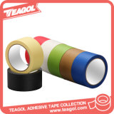 Cinta Adhesiva Adhesiva Colorida del Papel de Crepe del Pegamento de Goma