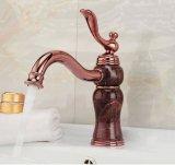 Badezimmer-Retro Marmorsteinbassin-Hahn mit einzelnem Griff