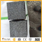 Permeáveis Flamed pavimentação de basalto Preto /cinza/Para pavimento para o modo Paisagem /Jardim/quintal