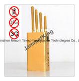 Handheld Jammer/блокатор сигнала 5 полос; GSM, 3G, GPS, Jammer сотового телефона; Портативная система Jammer сигнала тревоги обеспеченностью; Jammer WiFi/Jammer камеры