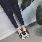 2017 персонализированных летом животных женщин прилива замши картины определяют ботинки