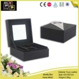 La pequeña caja de joyas de lujo Joyas de cuero blanco Embalaje (8043R1)