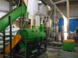 Riciclaggio di lavaggio della plastica della bottiglia di acqua dell'ANIMALE DOMESTICO dello scarto con i prezzi di competitività