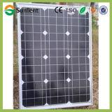 панель солнечных батарей 50W Mono кристаллическая PV для солнечной системы уличного освещения
