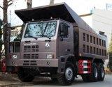 Sinotruk HOWO 50 Ton die de Vrachtwagen van de Stortplaats met Uitstekende kwaliteit ontginnen