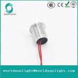 Ws120f1nom IP68 imprägniern 12mm die flache momentane Aluminiumhauptoxidations-kleinen piezo Schalter