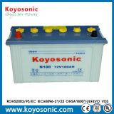 Haute batterie chargée sèche d'acide de plomb de batterie de voiture de la performance 12V 92ah
