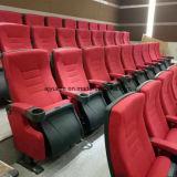 Hölzerner Auditoriums-Stuhl mit Schreibens-Tisch Yj1619
