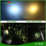 An der Wand befestigte Garten-Lampen-Garage-kampierende helle Landschaftssolarbeleuchtung