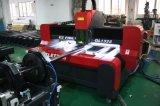 Cortadora dual del laser del CNC del tubo del metal de la transmisión del tornillo de la bola de Ezletter (GL1325)