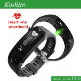 Braccialetto astuto della fascia di manopola di sport con il braccialetto astuto del pedometro di Bluetooth 4.0