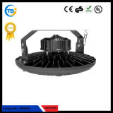 산업 Highbay 실내 점화 IP67 130lm/W 100W 150W 200W UFO Highbay LED 점화