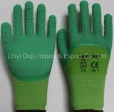 Нитрил/Latex/PU покрыл перчатки работы перчатки 3/4 латекса перчатки покрынные пеной покрывая