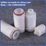 Fatura de vinho de nylon plissada mícron do filtro de água dos filtros em caixa de membrana do filtro do cartucho