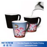 Цвет DIY изменяя керамическую Coated чашку передачи тепла сублимации