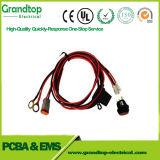 Carro de áudio profissional de alta qualidade do Conjunto de cabo do chicote de fios