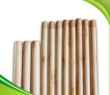 ручка веника 120cm * 2.2cm деревянная пластичная