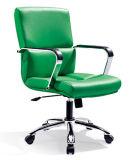 Présidence nettoyable durable verte de jeu d'invité de bureau avec l'accoudoir
