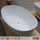 Banheira oval autônoma para a pessoa dois, banheira contínua de Surafce