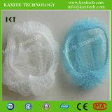 처분할 수 있는 부직포 두 배 탄력 있는 방진 의학 군중 모자 Kxt-Nwc12