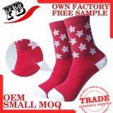 Kundenspezifische Männer NylonElastane komprimierende Socken