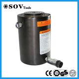 500 la tonelada de acción simple cilindro hidráulico