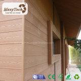 El panel exterior del papel de empapelar del compuesto de madera vivo de la textura WPC