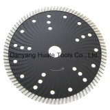 Silent Holes Diamond Concrete Cutting Disc, Diamond Blades Fast Cutting를 가진 최신 Pressed