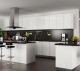 新しいモデルオーストラリアは現代カスタム白いラッカー食器棚を予約した(JX-KCLW002)