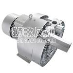 Bomba de vácuo lateral pequena industrial da canaleta para o equipamento periférico plástico