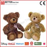 ASTM vulde de Dierlijke Zachte Teddybeer van het Stuk speelgoed van de Pluche voor de Jonge geitjes van de Baby