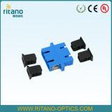 Adapters van het Kader van de Kabel van de Vezel van LC/APC Sm Quadruplex de Optische voor Met beperkte verliezen met Uitstekende kwaliteit