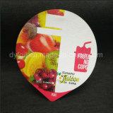Coperchi tagliati del/yogurt di alluminio di Lidding