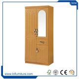 Tür der Flachgehäuse-Heimatland-Art-abreißen 2 hölzerne MDF-moderne Schlafzimmer-Garderoben