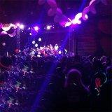 AC ABS IP20 het Mini LEIDENE van het Stadium RGBWA Licht van het PARI