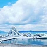Parque Aquático Inflável do mar, Aqua Park flutuante, Parque Aquático insufláveis gigantes