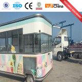 Fast Food de bonne qualité de la restauration camion / prix des aliments de l'équipement du chariot