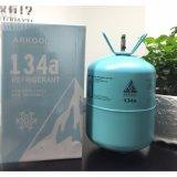 La alta calidad precio del gas refrigerante R134A 13,6kg Cilindro de gas certificado DOT