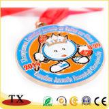 Medalha Sporting do esporte do troféu do presente da lembrança com fita