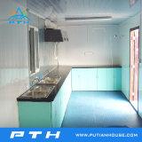 Envase prefabricado para el estilo modificado para requisitos particulares casa integrado de la talla de la cocina/del cocinero