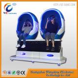 Eléctrica de 360 grados 2 asientos de la plataforma 9D Cine huevo Vr con buen precio.