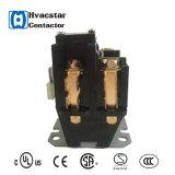 Contactor1.5 magnético poste 30 amperios de 24V de los contactores la monofásico de contactores de la CA