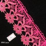 шнурки утесок 9.5cm Гуанчжоу декоративные, розовая граница утески шнуруют Hme801