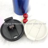 tasse de café isolée par mur sûr d'acier inoxydable de lave-vaisselle d'épreuve de la fuite 16oz double