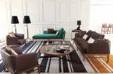 Sofá de couro moderno da venda quente ajustado com classe elevada (Ms1308