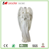 Polyresin Encantada Estátua Anjo permanente para Tubulações e decoração de jardim