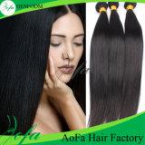 Do Weave brasileiro reto do cabelo do Virgin da qualidade superior cabelo humano