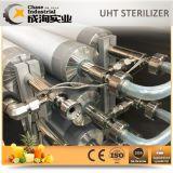 Sterilizer de Uht tubular automático da manutenção fácil para o processo da esterilização de suco e de leite