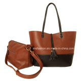 De Handtas van dame Multi Color Bag-in-Bag Shopping Totalisator